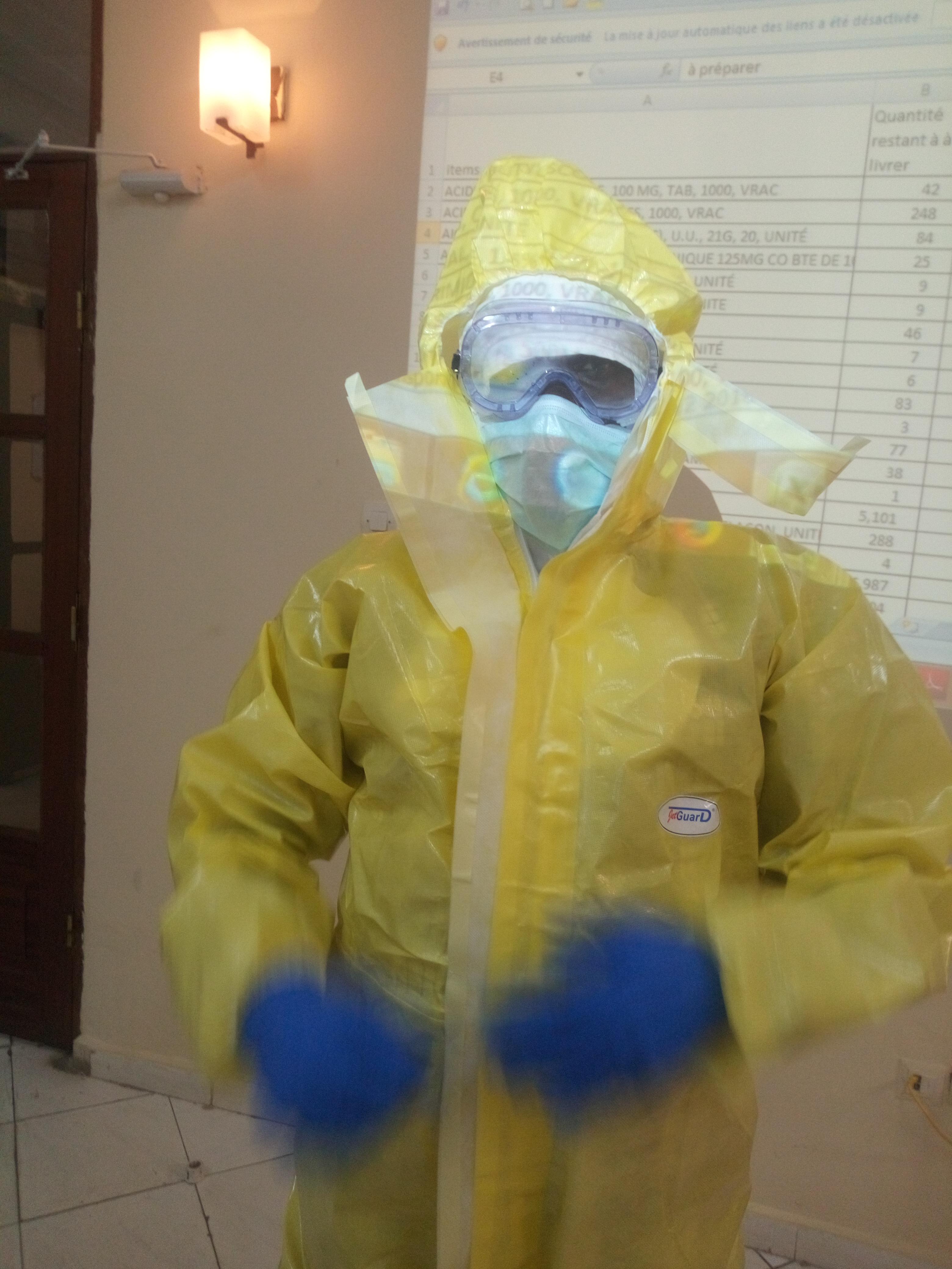Disponibilité du Kit d'Equipement de Protection Individuelle contre la maladie à Virus Ebola
